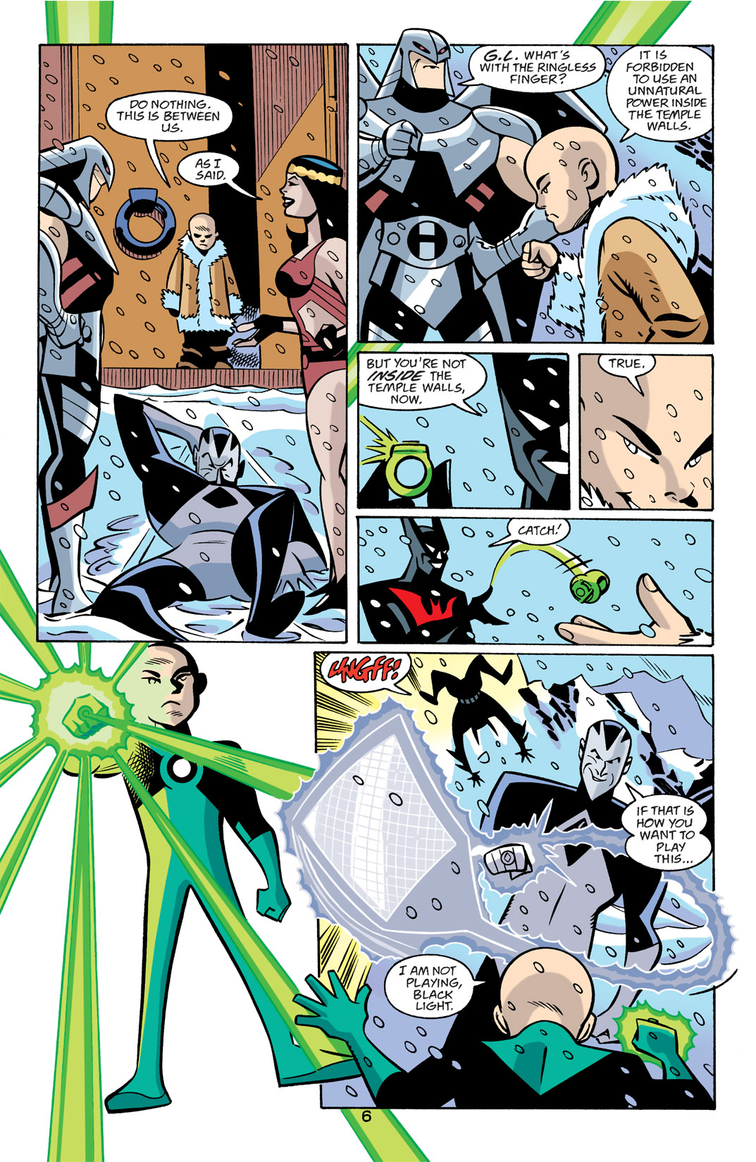 Batman Beyond [II] Issue #22 #22 - English 7