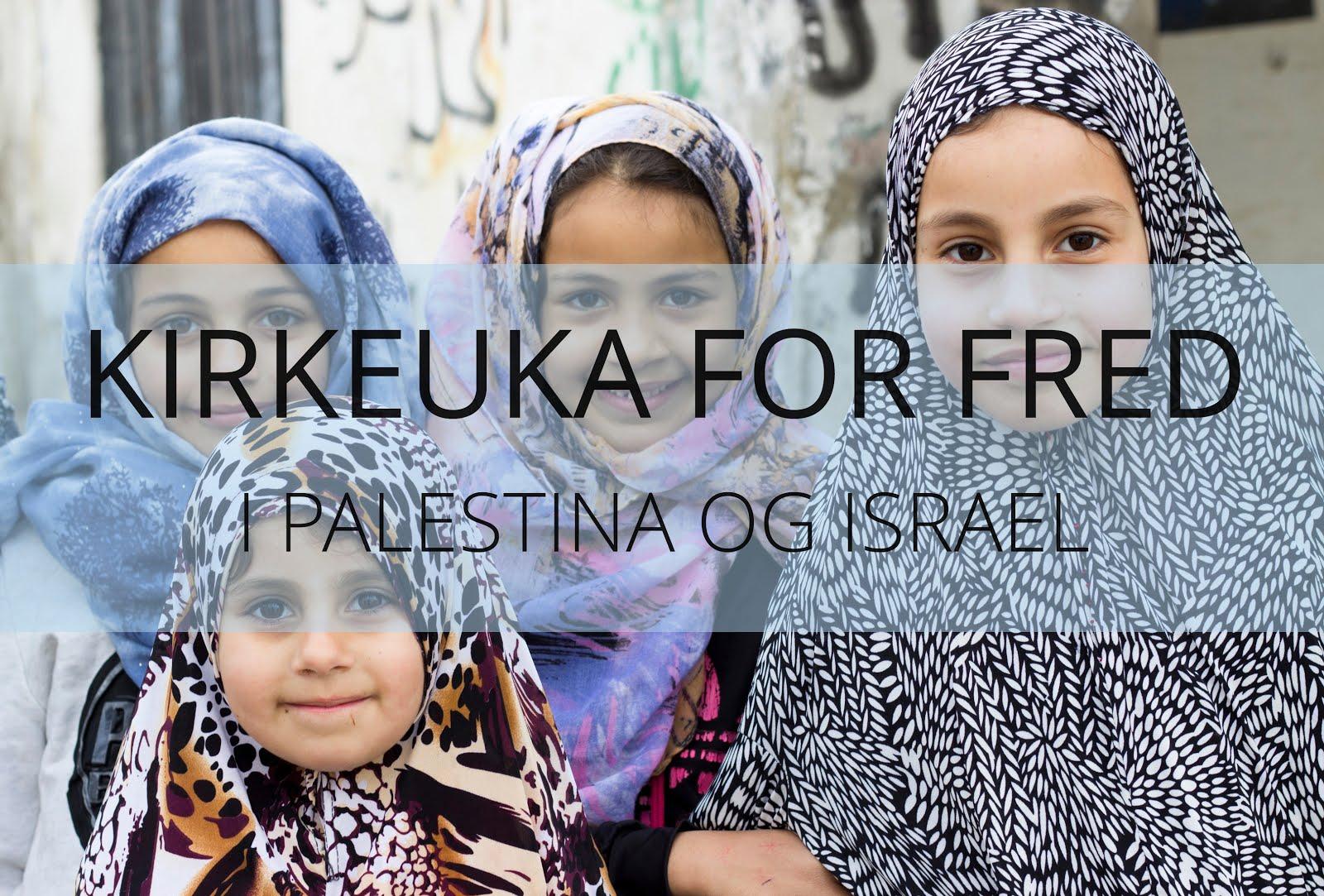 Kirkeuka for fred i Palestina og Israel