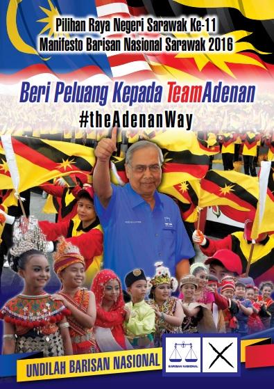Manifesto BN Sarawak 2016