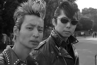 Japanese Punk Rock Haircut for Men