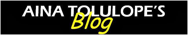 Aina Tolulope's Blog