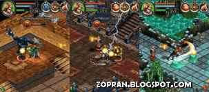 dungeon hunter 3 java games