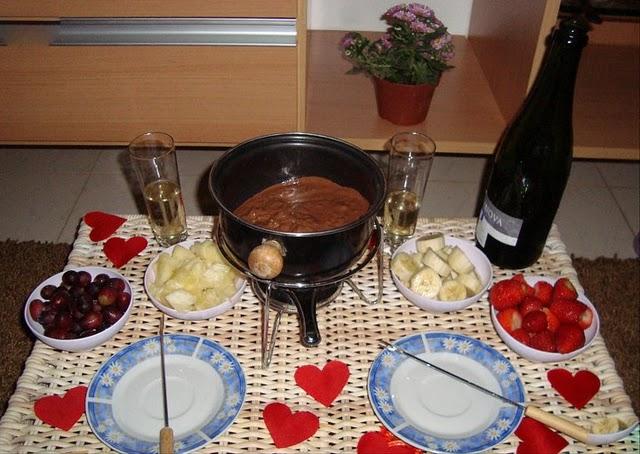 Extremamente surpresas para namorados: Jantar romântico NF82