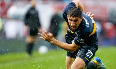 Arsenal are set to sign Jonathan Calleri