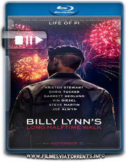 A Longa Caminhada de Billy Lynn Torrent - BluRay Rip 720p e 1080p Dublado