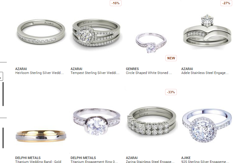 Where To Buy Wedding Rings in Lagos Nigeria Silver Gold Wedding