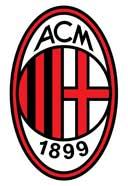 Logo AC Milan - Italy Lega Calcio Serie A