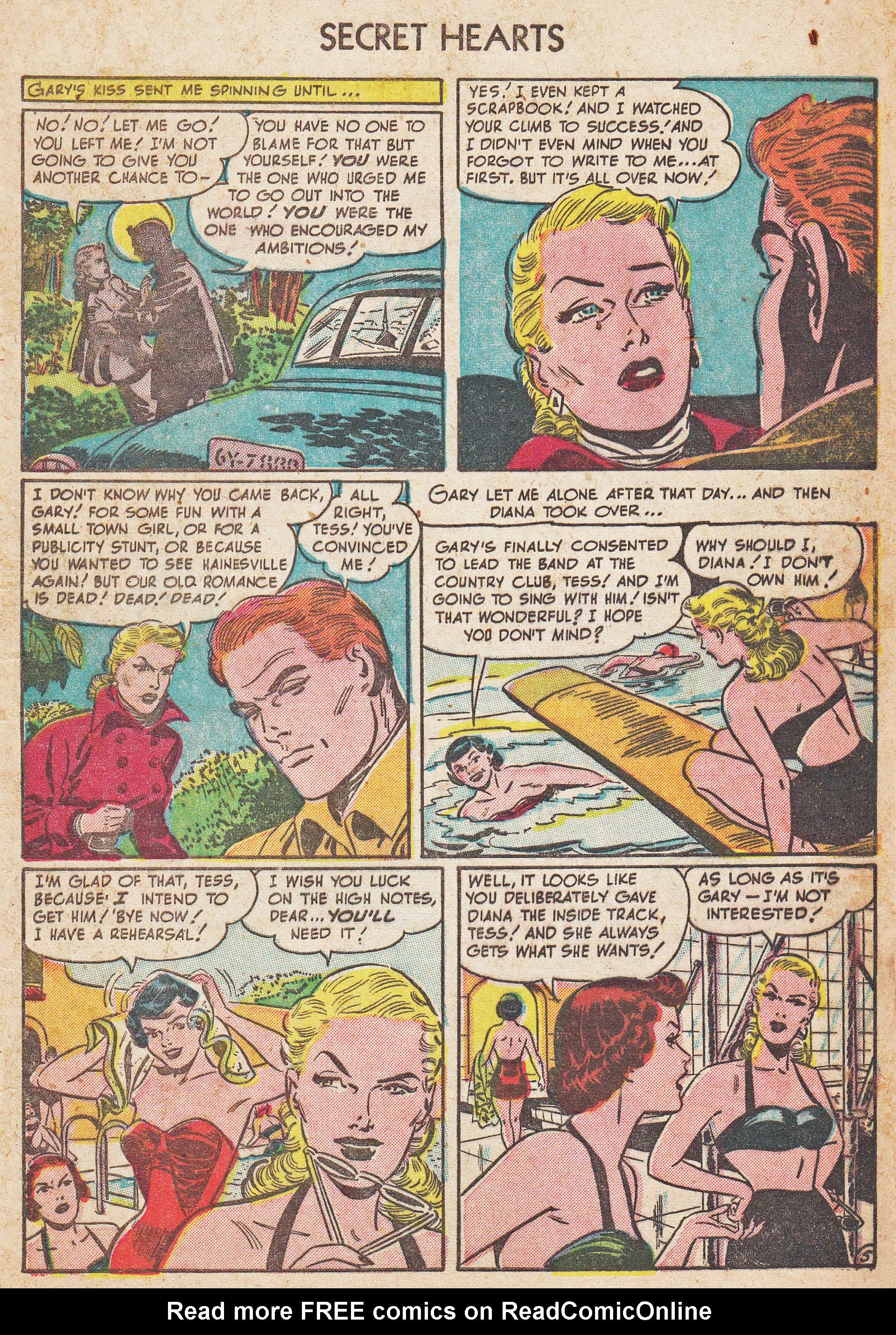 Read online Secret Hearts comic -  Issue #7 - 7