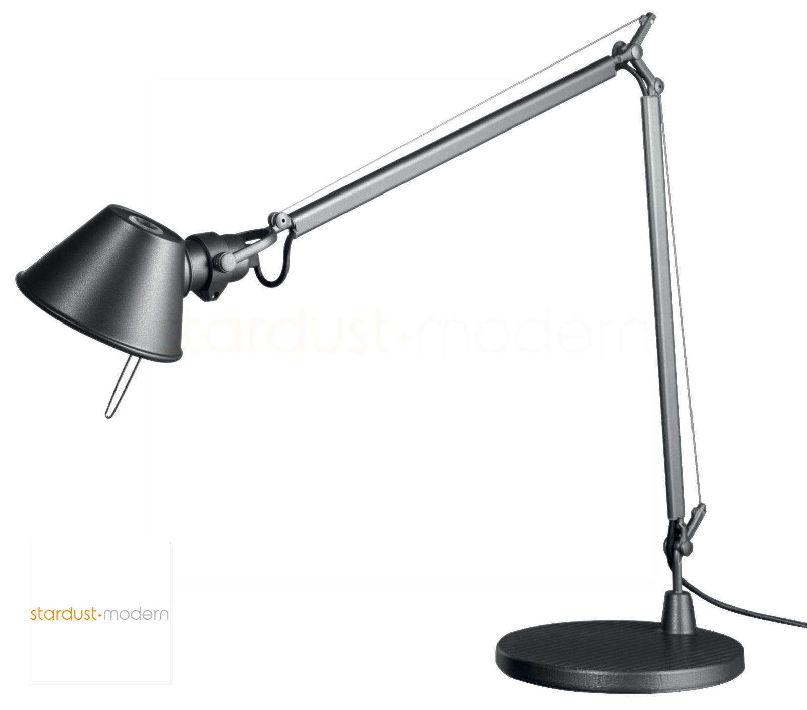 modern interior design MIDI TOLOMEO LED TOLOMEO DESK LAMP