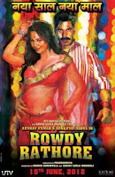 First Look of Rowdy Rathore 2012 [Bollywood Hindi Movie Poster - Wallpaper]