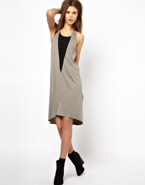 vest insert dress