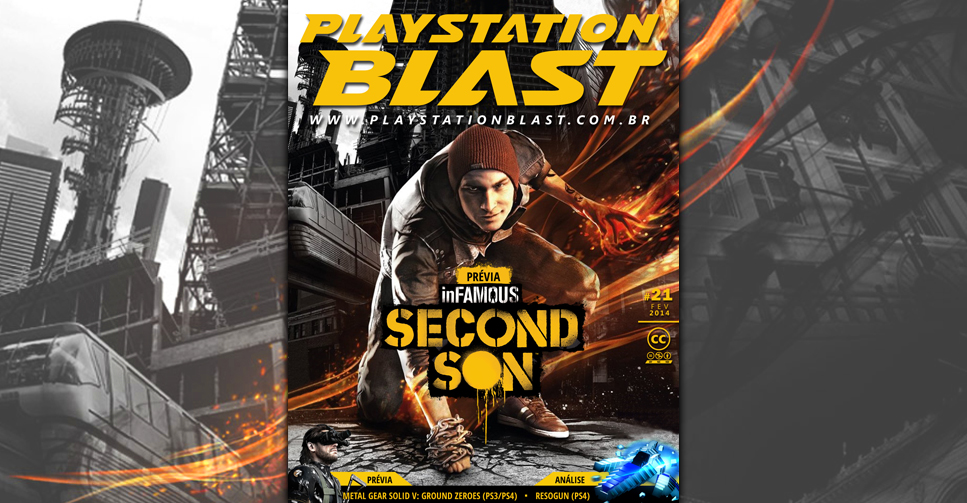 Revista PlayStation Blast Nº21 InFAMOUS