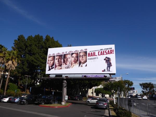 Hail Caesar movie billboard