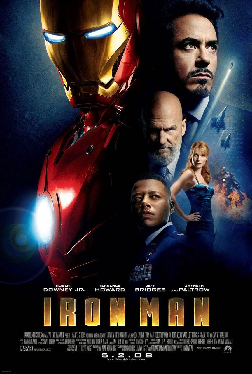 Người Sắt - Iron Man (2008) Poster