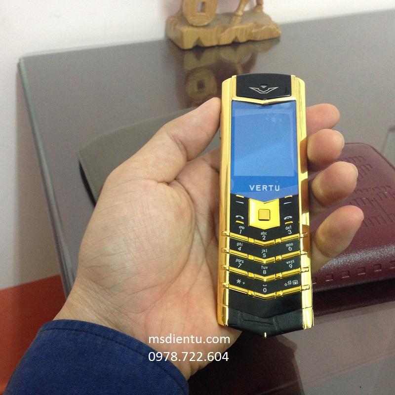 điện thoại vertu trung quốc copy GOLD Vàng