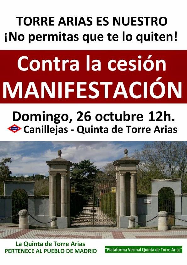 San Blás pide la Quinta de Torre Arias