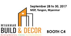 Myanmar Build & Decor Show 2017