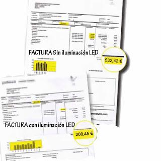 Ahorro energetico y ahorro economico iluminacion LED