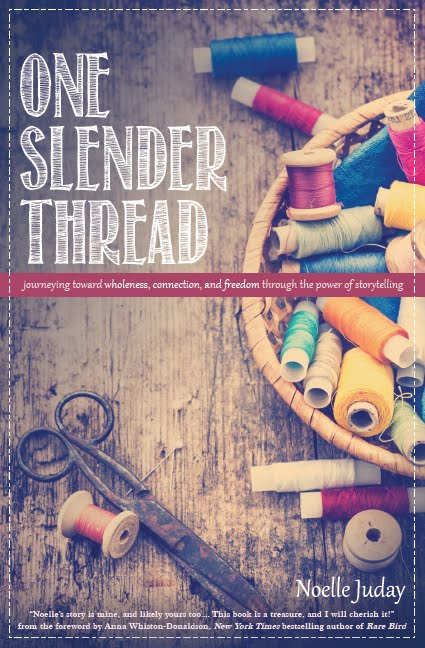 My Book: One Slender Thread