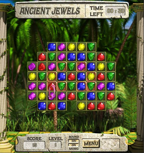 Ancient Jewels Play Free Facebook Game