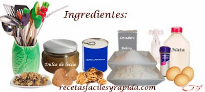 Tartas ingredientes