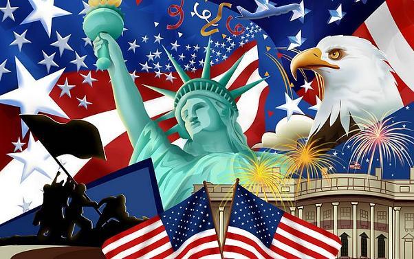 4 de julho: o dia da independência dos Estados Unidos da América