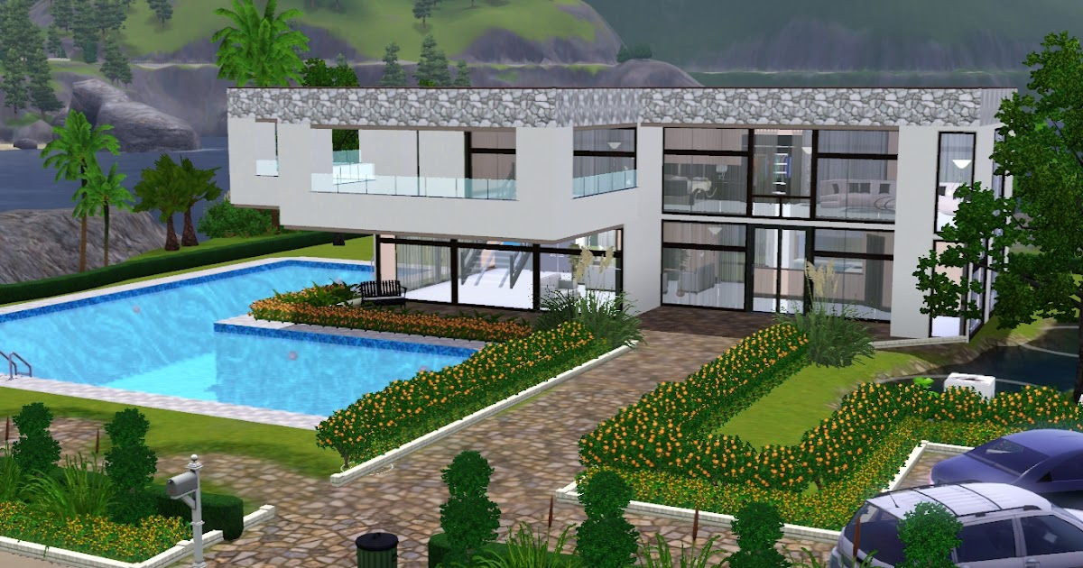 The sims giuly download e tutorial di the sims 3 casa for Case prefabbricate a lotti stretti
