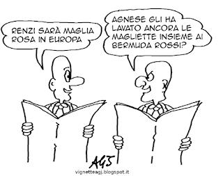 renzi, UE, PIL, satira, vignetta