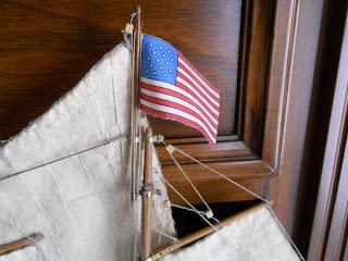 bandera de Estados Unidos del siglo XIX