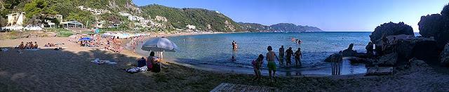 Plaža Glifada - panorama
