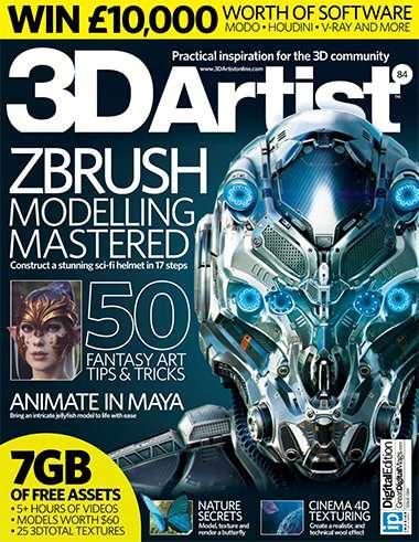 3D Artist Magazine Issue 84 2015