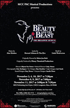 Mesa Community College PAC Musical Productions presents