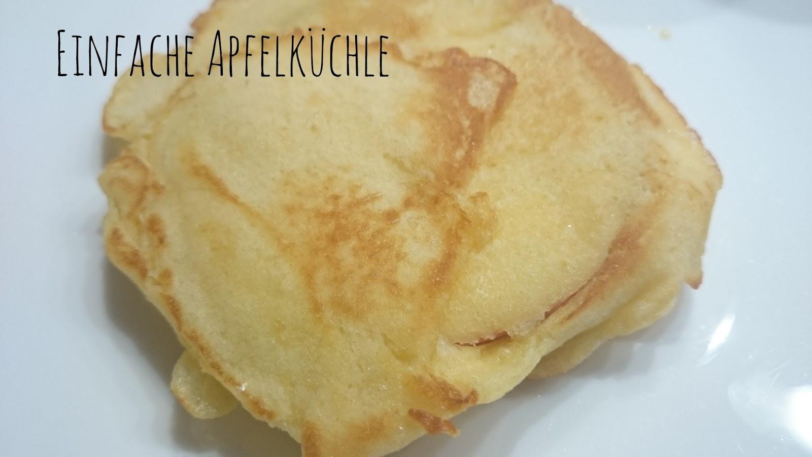 Rezept Einfache Apfelküchle