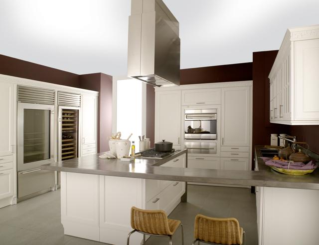 Cocinas luminosas con los acabados en blanco de gamadecor - Cocinas porcelanosa precios ...