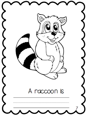 Nocturnal Animals Printable Coloring
