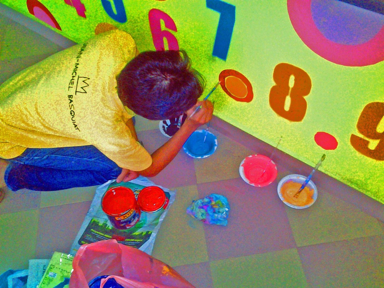 Suka suki seni by faiz mustaffa muralisme 1 pengenalan for Contoh lukisan mural tadika