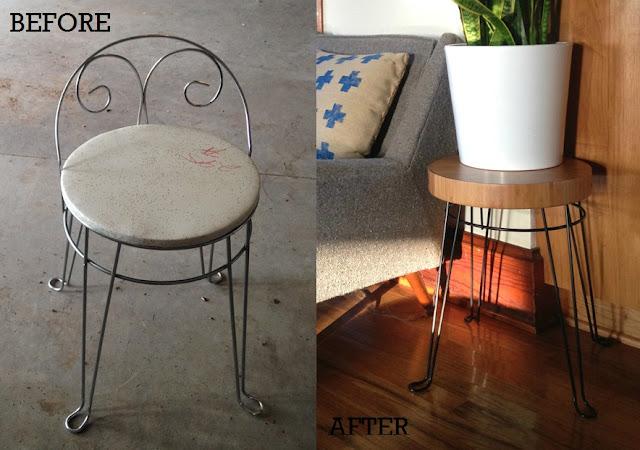 http://oilandblue.blogspot.com/2015/07/before-after-retro-stool-goes-mod.html