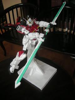 Sword Impulse Gundam Papercraft