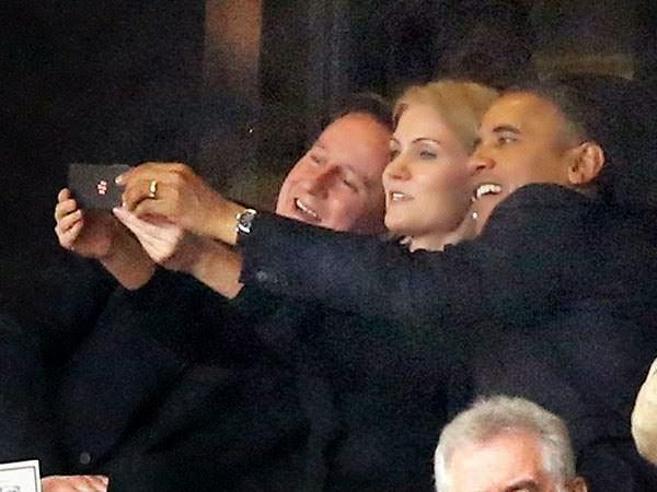 Selfie Barack Obama