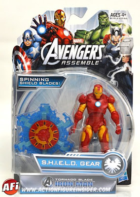 "Hasbro Avengers Assemble 3.75"" Iron Man Figure"