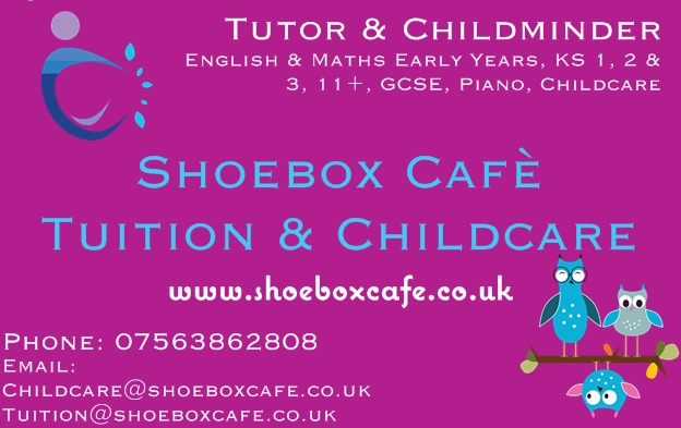 Miss Rix Chatter - Tutor/Childminder CORSHAM, WILTSHIRE