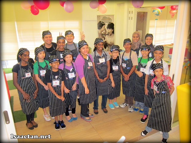Happy smiley faces of the young chefs participating in Leggo's Junior Chef Challenge