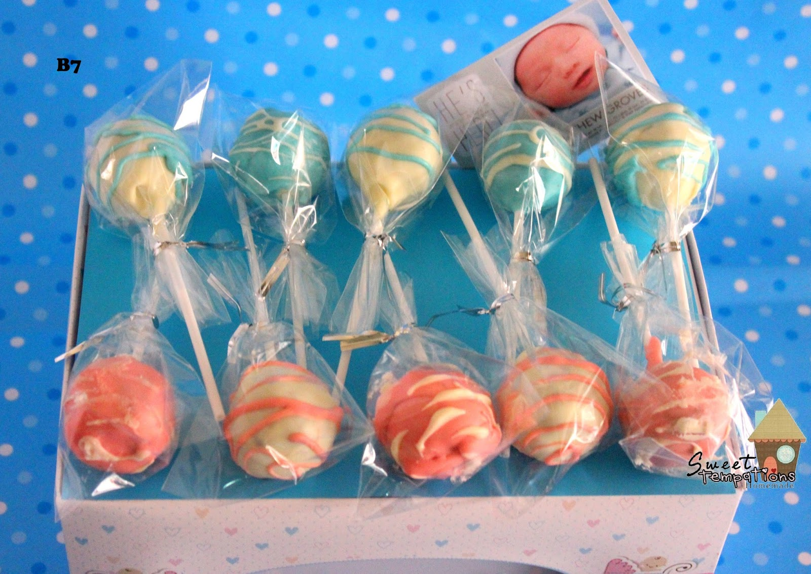 Sweet Temptations Homemade Cakes Amp Pastry New Baby Boy