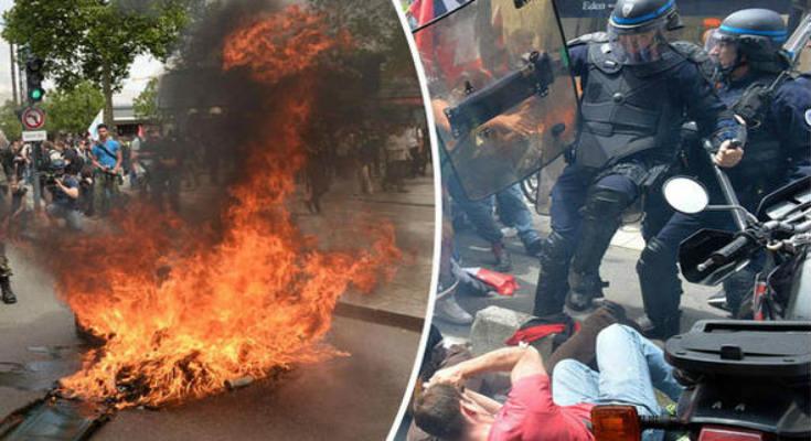 «Καζάνι» που βράζει η Γαλλία- Νέος γύρος επεισοδίων