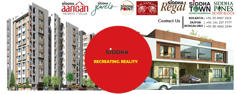Real Estate Properties in Kolkata and Jaipur (India)
