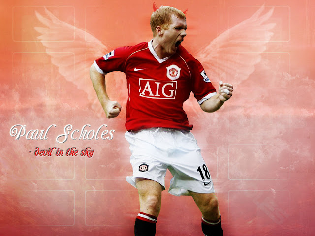 Free Paul Scholes Wallpaper
