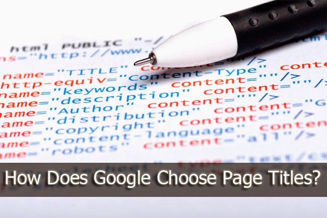 How Does Google Choose Page Titles?