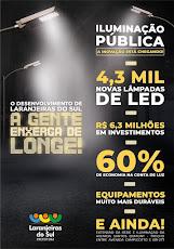 Laranjeiras do Sul - 100% Iluminação Pública de LED