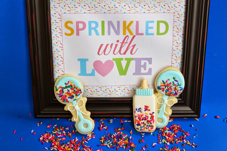 baby sprinkle cookies