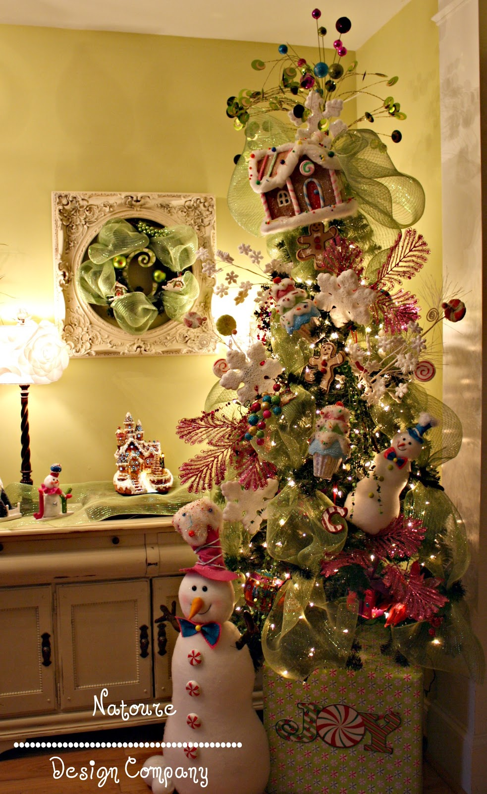 The inspired creative one christmas trees for Whimsical decor
